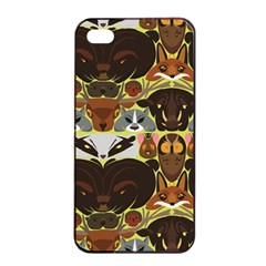 Leaders of the Forest Apple iPhone 4/4s Seamless Case (Black)