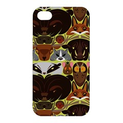 Leaders Of The Forest Apple Iphone 4/4s Premium Hardshell Case