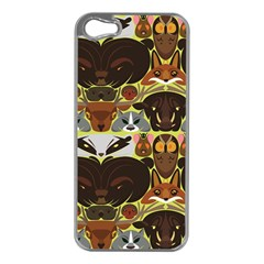 Leaders of the Forest Apple iPhone 5 Case (Silver)