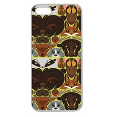 Leaders Of The Forest Apple Seamless Iphone 5 Case (clear)