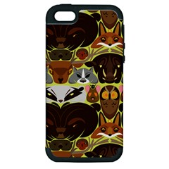 Leaders Of The Forest Apple Iphone 5 Hardshell Case (pc+silicone)