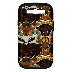 Leaders Of The Forest Samsung Galaxy S Iii Hardshell Case (pc+silicone)