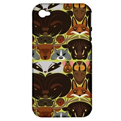 Leaders Of The Forest Apple Iphone 4/4s Hardshell Case (pc+silicone)