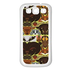 Leaders of the Forest Samsung Galaxy S3 Back Case (White)