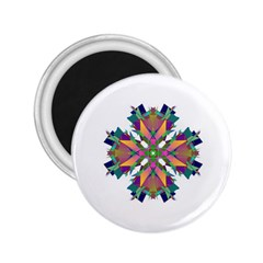 Modern Art 2 25  Button Magnet