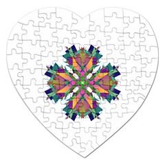 Modern Art Jigsaw Puzzle (Heart)