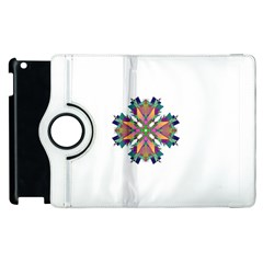 Modern Art Apple Ipad 2 Flip 360 Case