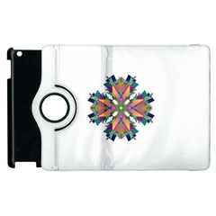 Modern Art Apple iPad 3/4 Flip 360 Case