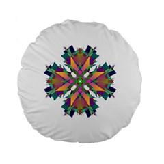 Modern Art 15  Premium Round Cushion