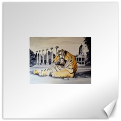 Tiger Art 1 Canvas 12  x 12  (Unframed)