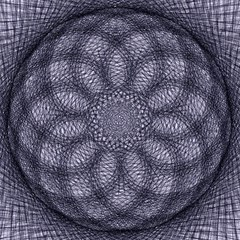Spirograph Canvas 20  x 20  (Unframed)