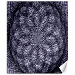 Spirograph Canvas 20  x 24  (Unframed)