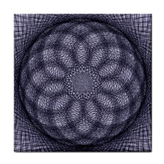 Spirograph Face Towel