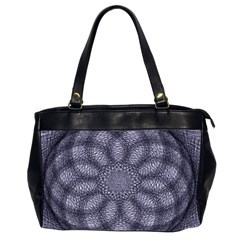 Spirograph Oversize Office Handbag (Two Sides)