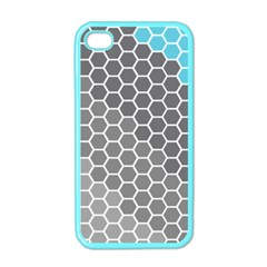 Hexagon Waves Apple iPhone 4 Case (Color)