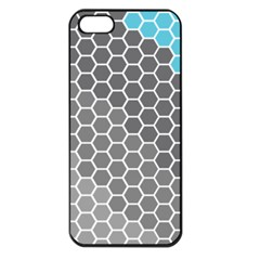 Hexagon Waves Apple iPhone 5 Seamless Case (Black)