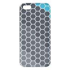 Hexagon Waves Iphone 5 Premium Hardshell Case