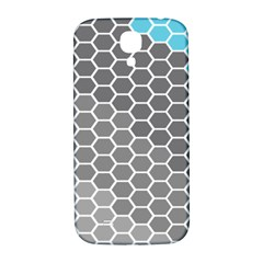 Hexagon Waves Samsung Galaxy S4 I9500/I9505  Hardshell Back Case