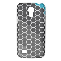 Hexagon Waves Samsung Galaxy S4 Mini Hardshell Case