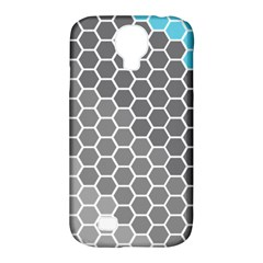 Hexagon Waves Samsung Galaxy S4 Classic Hardshell Case (pc+silicone)