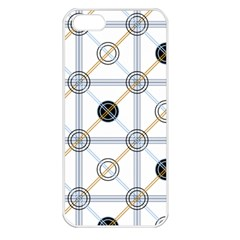 Circle Connection Apple iPhone 5 Seamless Case (White)