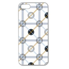 Circle Connection Apple Seamless iPhone 5 Case (Clear)