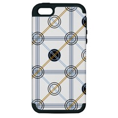 Circle Connection Apple iPhone 5 Hardshell Case (PC+Silicone)
