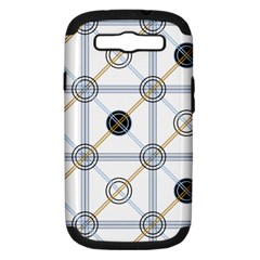 Circle Connection Samsung Galaxy S Iii Hardshell Case (pc+silicone)