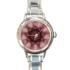 Spirograph Round Italian Charm Watch