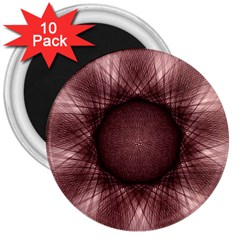 Spirograph 3  Button Magnet (10 Pack)