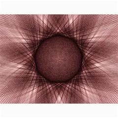 Spirograph Canvas 18  x 24  (Unframed)