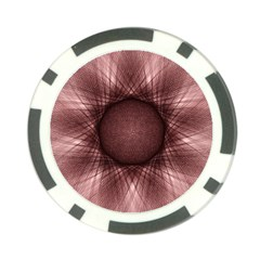 Spirograph Poker Chip