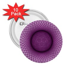 Spirograph 2 25  Button (10 Pack)