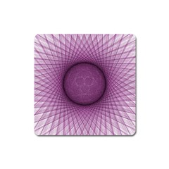 Spirograph Magnet (square)