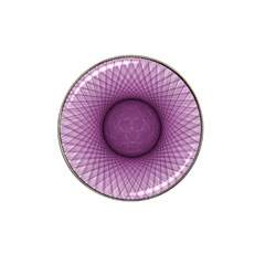 Spirograph Golf Ball Marker 4 Pack (for Hat Clip)