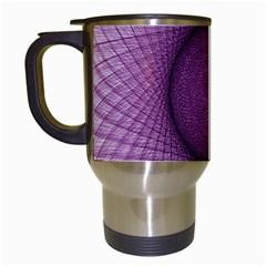 Spirograph Travel Mug (White)