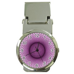 Spirograph Money Clip with Watch