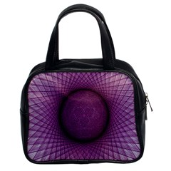 Spirograph Classic Handbag (two Sides)