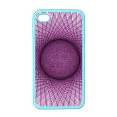 Spirograph Apple iPhone 4 Case (Color)