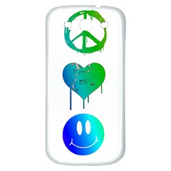 Peace Love And Happiness Samsung Galaxy S3 S Iii Classic Hardshell Back Case