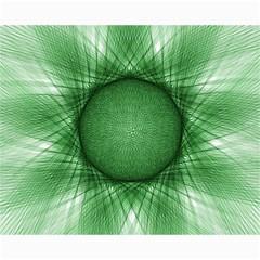 Spirograph Canvas 16  X 20  (unframed)