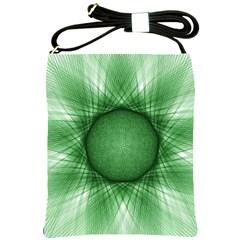 Spirograph Shoulder Sling Bag