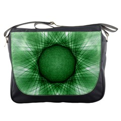 Spirograph Messenger Bag