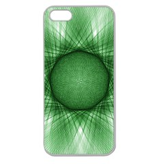 Spirograph Apple Seamless iPhone 5 Case (Clear)