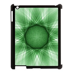 Spirograph Apple iPad 3/4 Case (Black)