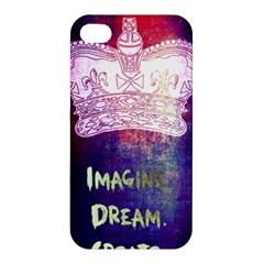 Imagine. Dream. Create. Apple iPhone 4/4S Premium Hardshell Case