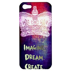 Imagine. Dream. Create. Apple iPhone 5 Hardshell Case