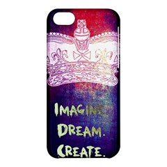 Imagine. Dream. Create. Apple iPhone 5C Hardshell Case