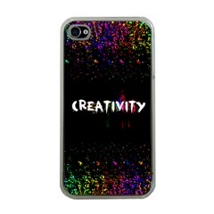 Creativity  Apple Iphone 4 Case (clear)
