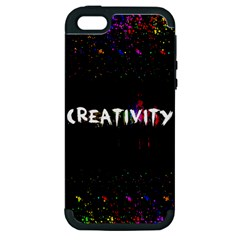 CREATIVITY. Apple iPhone 5 Hardshell Case (PC+Silicone)